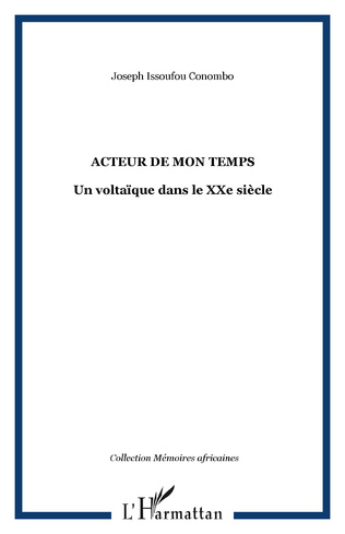 Couverture ACTEUR DE MON TEMPS