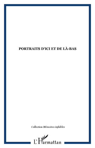 Couverture Portraits d'ici et de là-bas