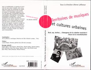 Couverture Territoires de musiques et cultures urbaines