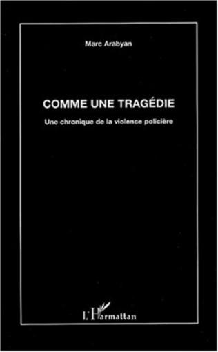 Couverture COMME UNE TRAGÉDIE