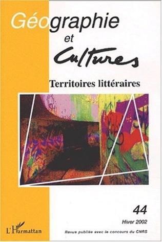 Couverture Territoires littéraires