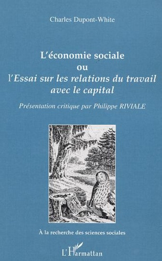 Couverture L'économie sociale