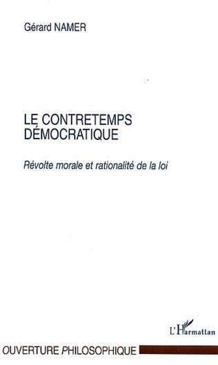 Couverture Le contretemps démocratique