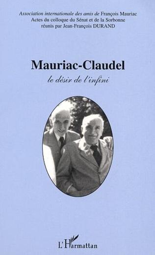 Couverture MAURIAC-CLAUDEL