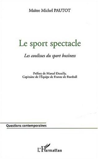 Couverture Le sport spectacle