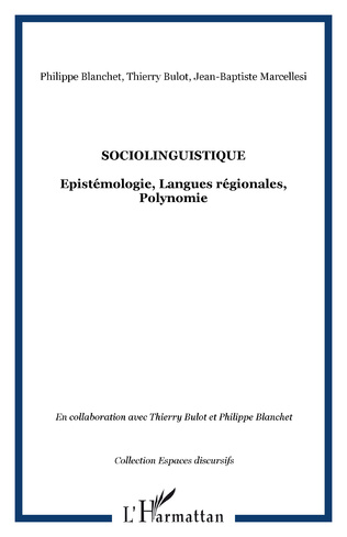 Couverture Sociolinguistique