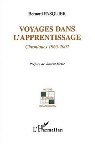 Couverture Voyages dans l'apprentissage