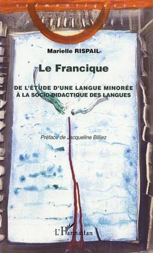 Couverture LE FRANCIQUE
