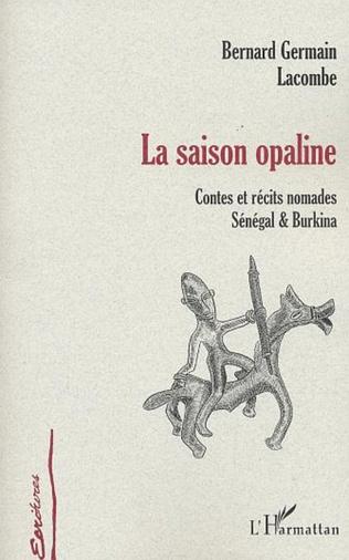 Couverture LA SAISON OPALINE
