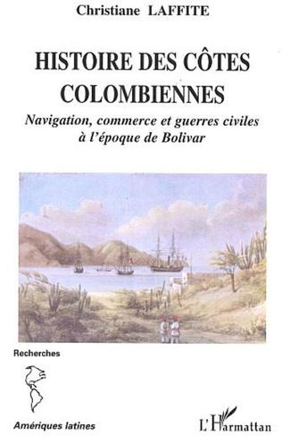 Couverture Histoire des côtes colombiennes