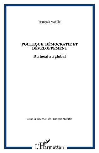Couverture POLITIQUE, DÉMOCRATIE ET DÉVELOPPEMENT