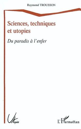 Couverture Sciences, techniques et utopies