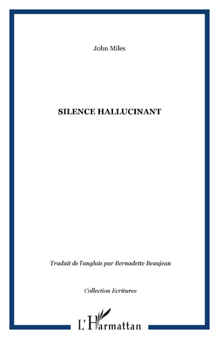 Couverture Silence hallucinant