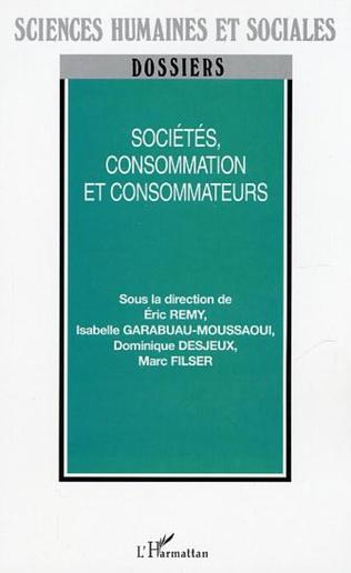 Couverture Sociétés, consommation et consommateurs