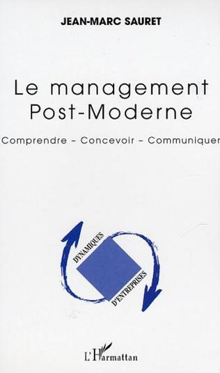 Couverture Le management Post-Moderne
