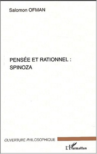 Couverture PENSEE ET RATIONNEL : SPINOZA