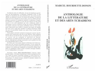 Couverture Anthologie de la littérature et des arts tchadiens