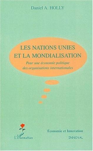 Couverture Les Nations Unies et la mondialisation