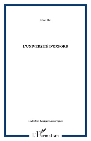 Couverture L'université d'Oxford
