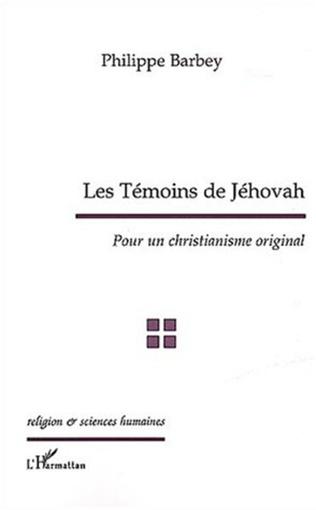 Couverture Les témoins de Jehovah