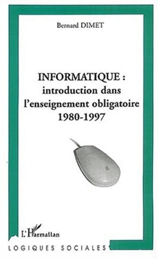 Couverture Informatique introduction dans l'enseignement obligatoire