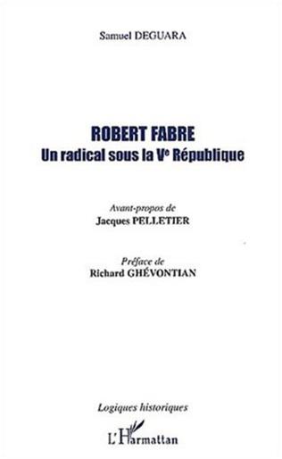 Couverture Robert Fabre