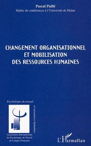 Couverture Changement organisationnel et mobilisation des ressources humaines