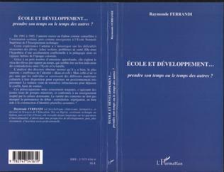 Couverture Ecole et développement
