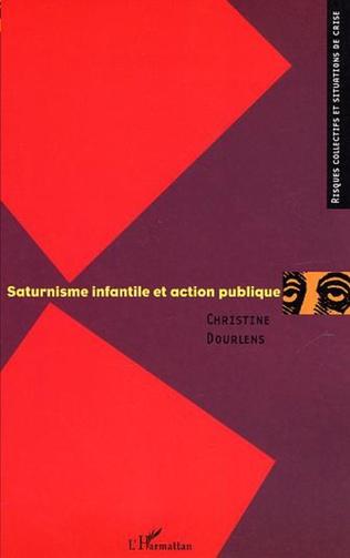 Couverture Saturnisme infantile et action publique