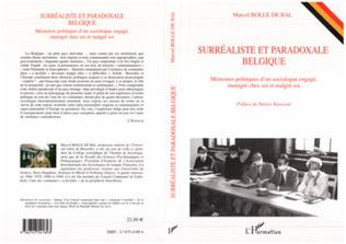 Couverture Surréaliste et paradoxale Belgique