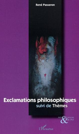 Couverture Exclamations philosophiques