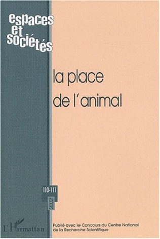 Couverture La place de l'animal