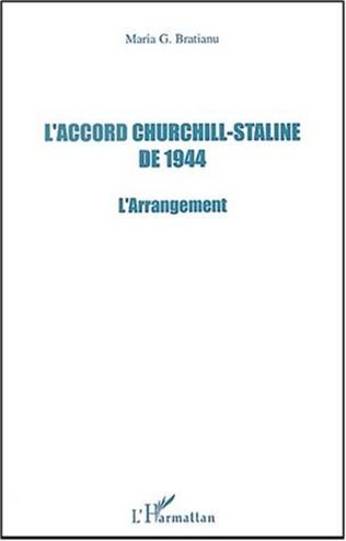 Couverture L'Accord Churchill-Staline de 1944