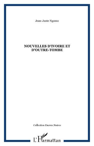Couverture Nouvelles d'Ivoire et d'outre-tombe