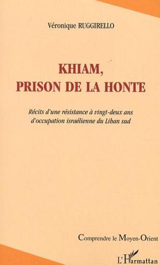 Couverture Khiam, prison de la honte