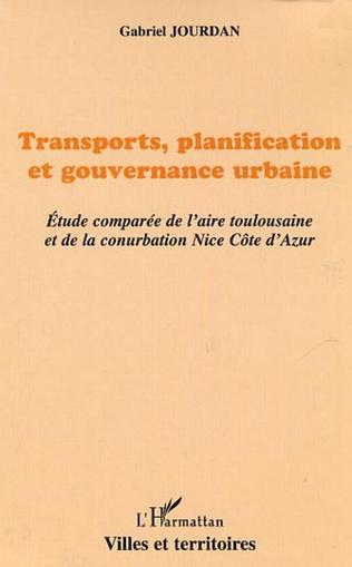 Couverture Transports, planification et gouvernance urbaine
