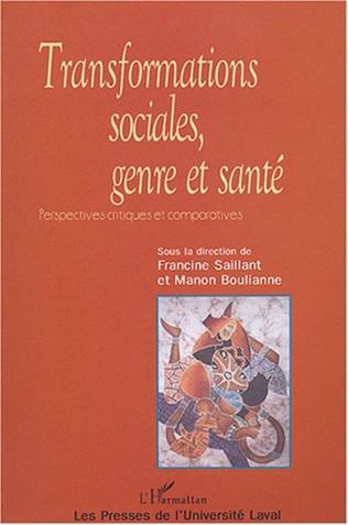Couverture Transformations sociales genre et santé