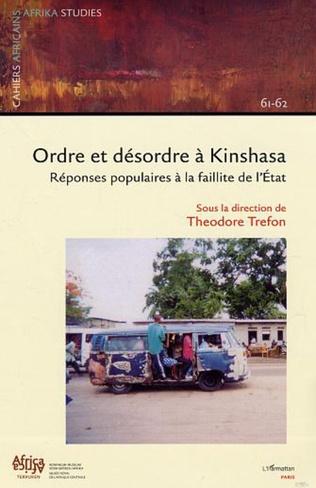 Couverture Ordre et désordre à Kinshasa (n°61-62)