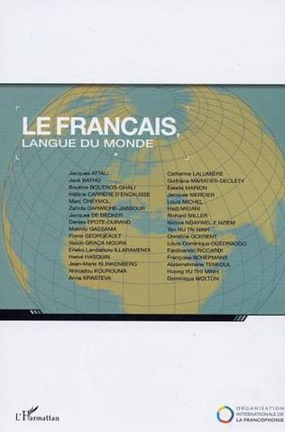 Couverture Le français langue du monde