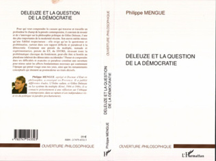 Couverture Deleuze et la question de la démocratie