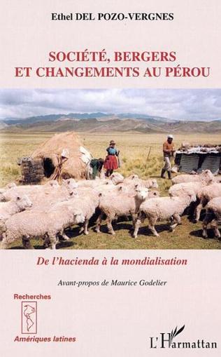 Couverture Société, bergers et changements au Pérou