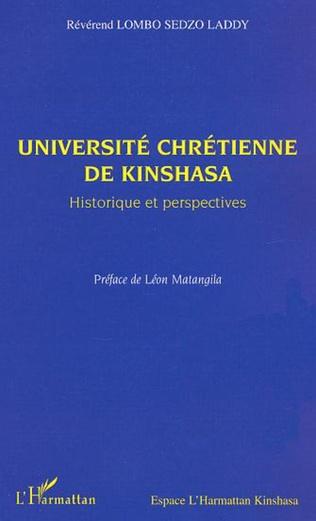 Couverture Université chrétienne de Kinshasa