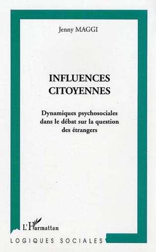 Couverture Influences citoyennes
