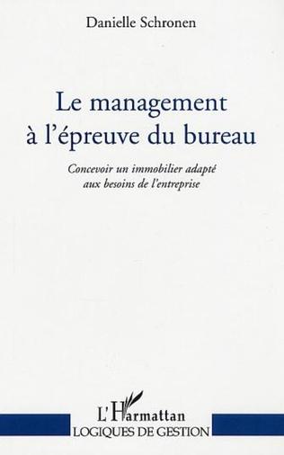 Couverture Le management à l'épreuve du bureau