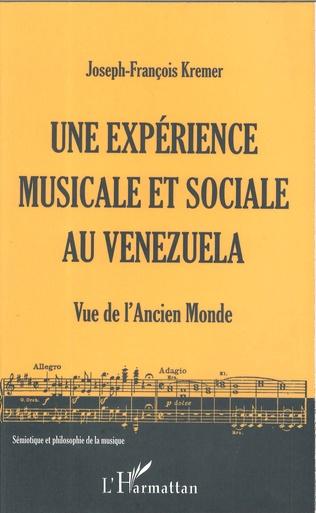 Couverture Une expérience musicale et sociale au Venezuela