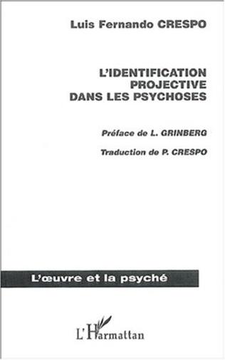 Couverture Identification projective dans les psychoses