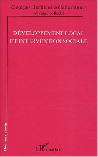 Couverture Développement local et intervention sociale