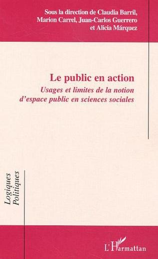 Couverture Le public en action