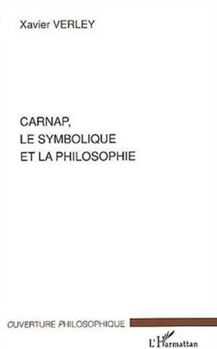 Couverture Carnap, le symbolique et la philosophie