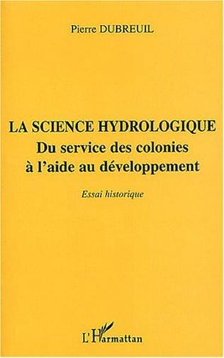Couverture La science hydrologique